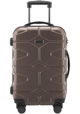 Hauptstadtkoffer Hartschalen-Trolley »X-Kölln, 55 cm«, 4 Rollen, mit 4 Rollen kaufen