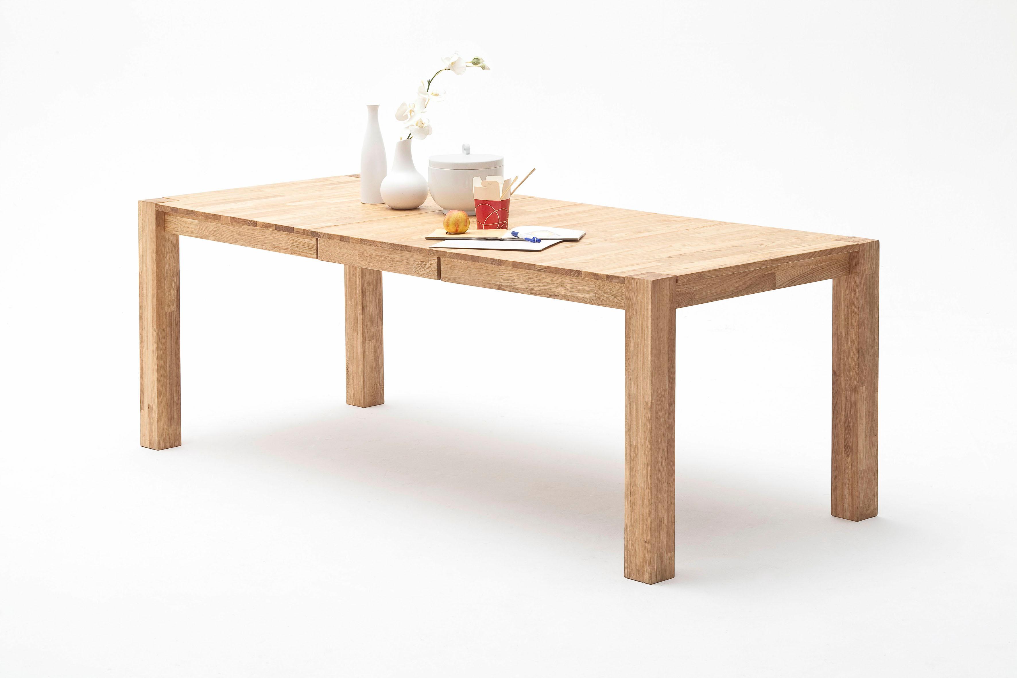 MCA living Esstisch, Breite 160(-210) cm beige Esstisch Ausziehbare Esstische Tische