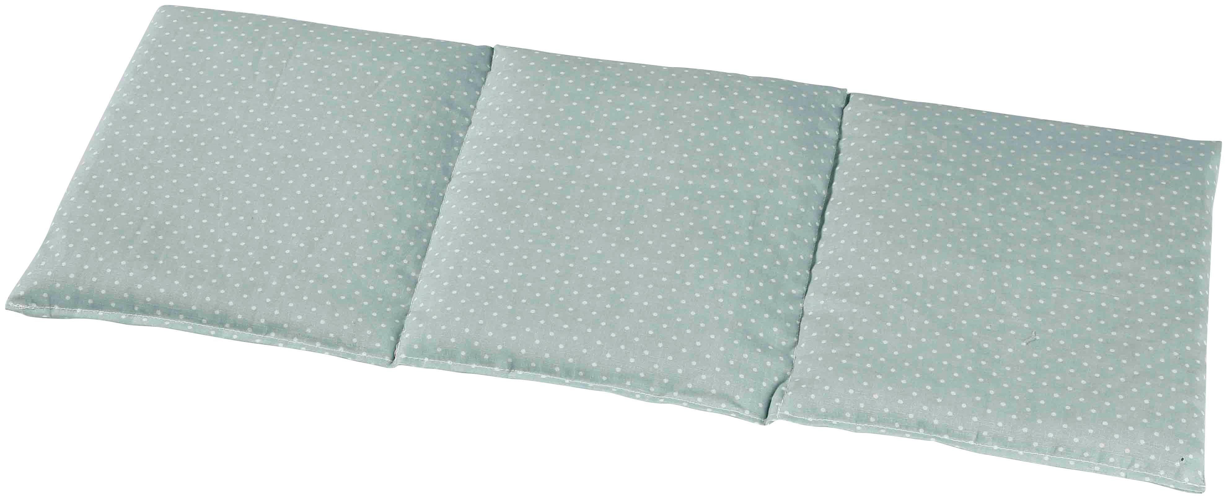 3-Kammer-Kopfkissen, »4237 3-Kammer Wärmekissen, 50x20 cm Pastellgrün«, herbalind, Bezug: 100% Baumwolle, (1-tlg.)