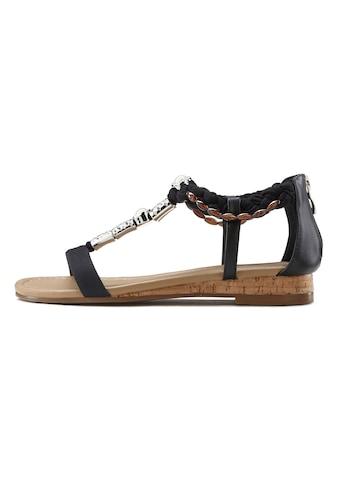 LASCANA Sandale, mit Schmuckelementen kaufen