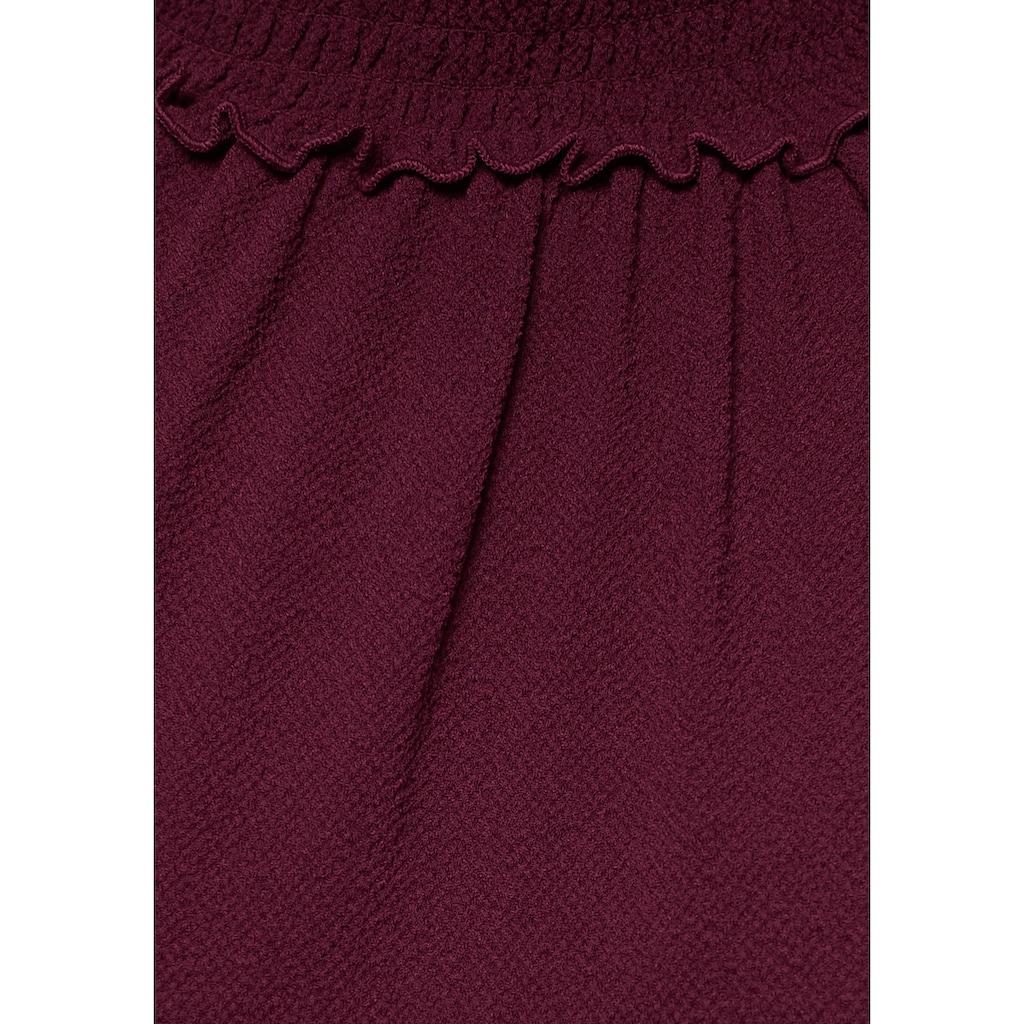 Aniston CASUAL Schlupfbluse, mit Ornament Druck oder unifarben
