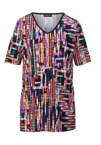 m. collection Shirt im sommerlichem Tupfendruckdessin kaufen