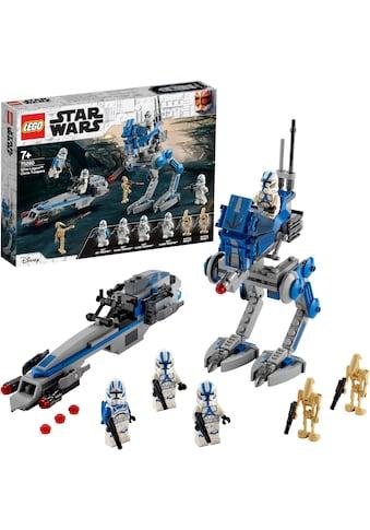 """LEGO® Konstruktionsspielsteine """"Clone Troopers™ der 501. Legion™ (75280), LEGO® Star Wars™"""", Kunststoff, (285 - tlg.) kaufen"""
