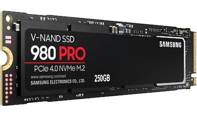 Samsung interne SSD »980 PRO NVMe«, Playstation 5 kompatibel*, PCIe 4.0 NVMe™ kaufen