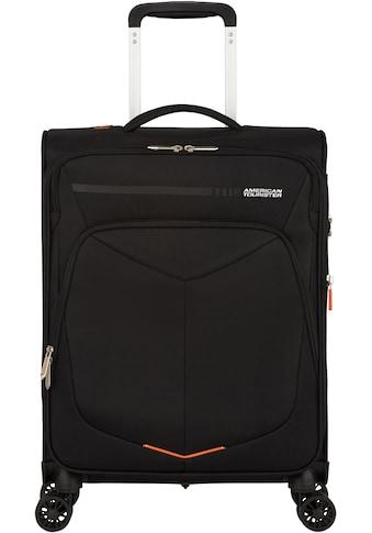 American Tourister® Weichgepäck-Trolley »Summerfunk, 55 cm, black«, 4 Rollen kaufen