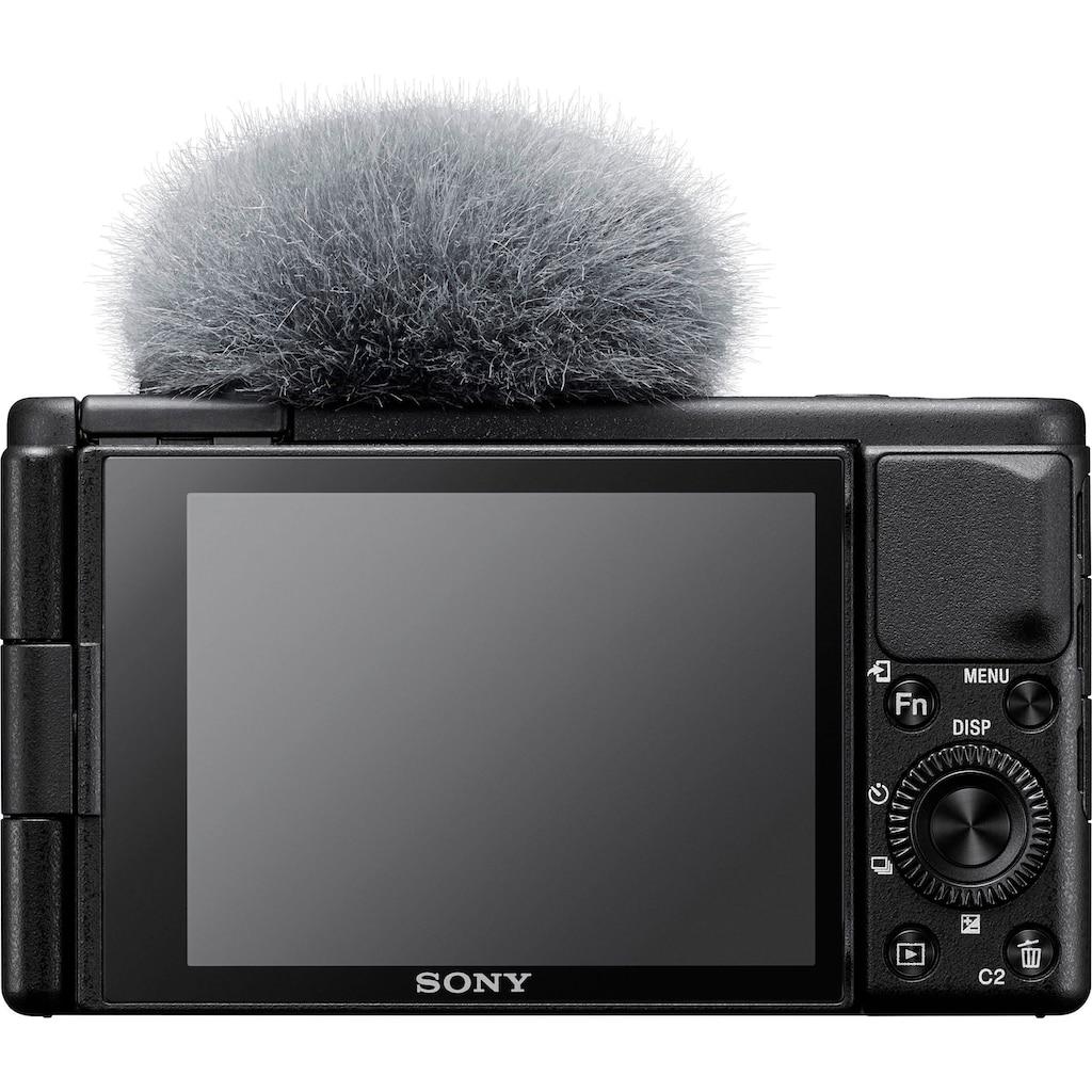 Sony Kompaktkamera »Vlog-Kamera ZV-1«, WLAN (Wi-Fi)-Bluetooth