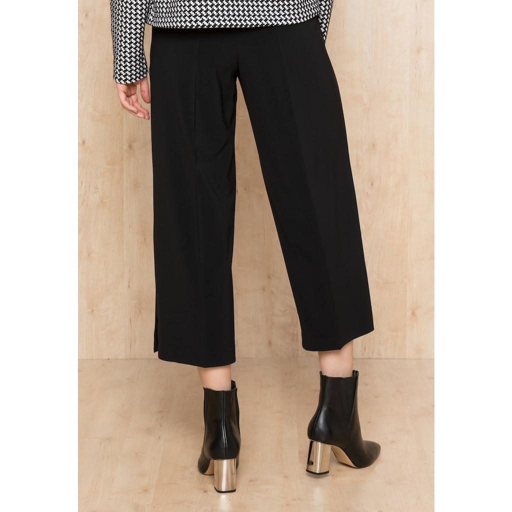 bianca Culotte »PARIGI«, mit seitlichen Knöpfen am Bein