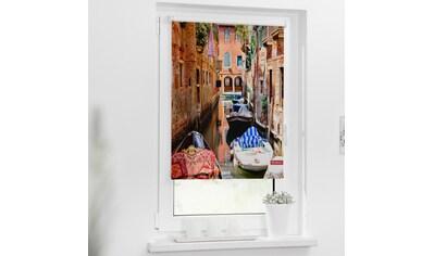 LICHTBLICK ORIGINAL Seitenzugrollo »Rollo Klemmfix, ohne Bohren, Verdunkelung, Venedig... kaufen