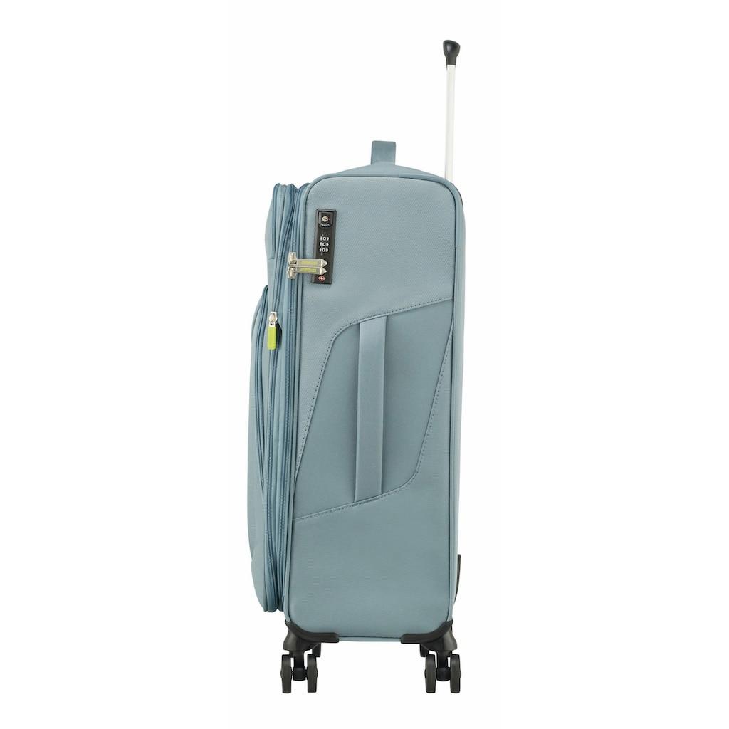 American Tourister® Weichgepäck-Trolley »Summerfunk, 68 cm«, 4 Rollen, mit Volumenerweiterung