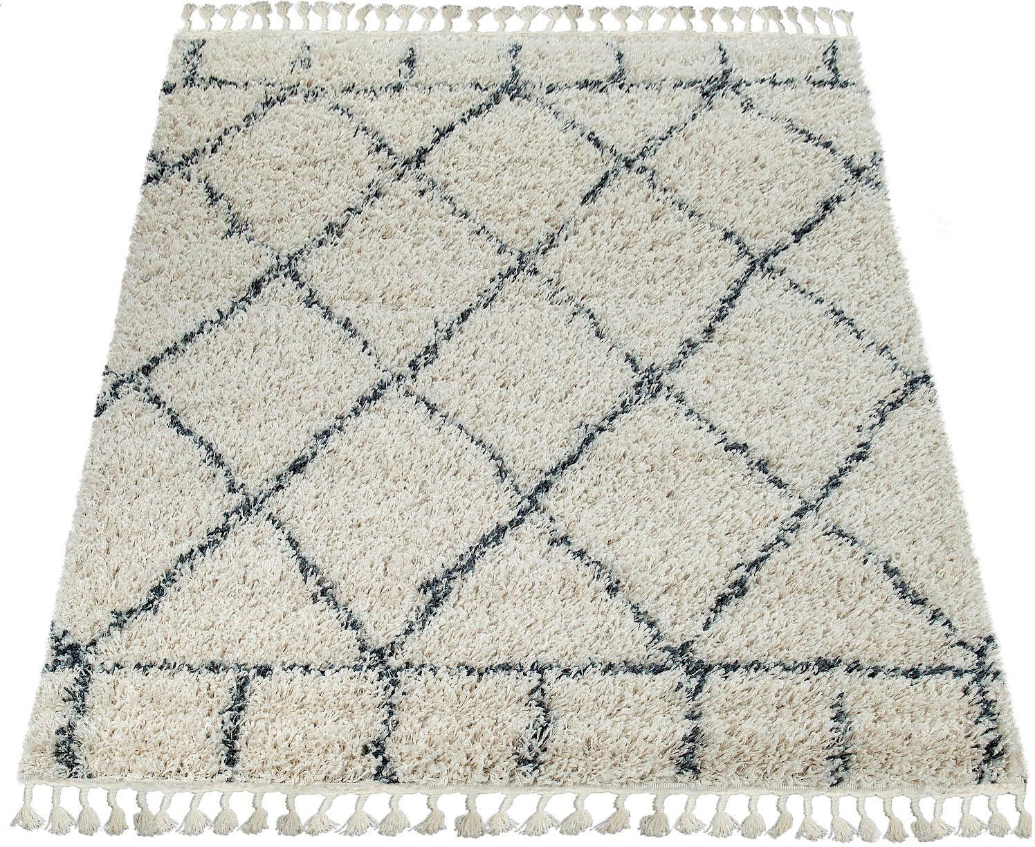 Teppich Nador 755 Paco Home rechteckig Höhe 55 mm maschinell gewebt