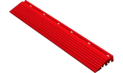florco® Klickfliesen-Kantenleiste, Seitenteil rot, 40 cm kaufen