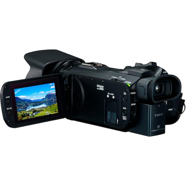 Canon »Legria HF-G26 schwarz« Camcorder (Full HD, 20x opt. Zoom)