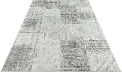 ELLE Decor Teppich »Denain«, rechteckig, 4 mm Höhe, Vintage Patchwork, hochwertiger... kaufen