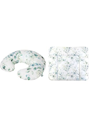 Rotho Babydesign Wickelauflage »Natural Leaves«, (Set, 2 tlg.), inklusive Stillkissen... kaufen