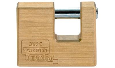 BURG WÄCHTER Vorhängeschloss »Quadra 444 90 SB«, Zylinder - Vorhangschloss kaufen