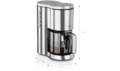 BEEM Filterkaffeemaschine Edelstahl  -  Glas, Permanentfilter 1x4 kaufen