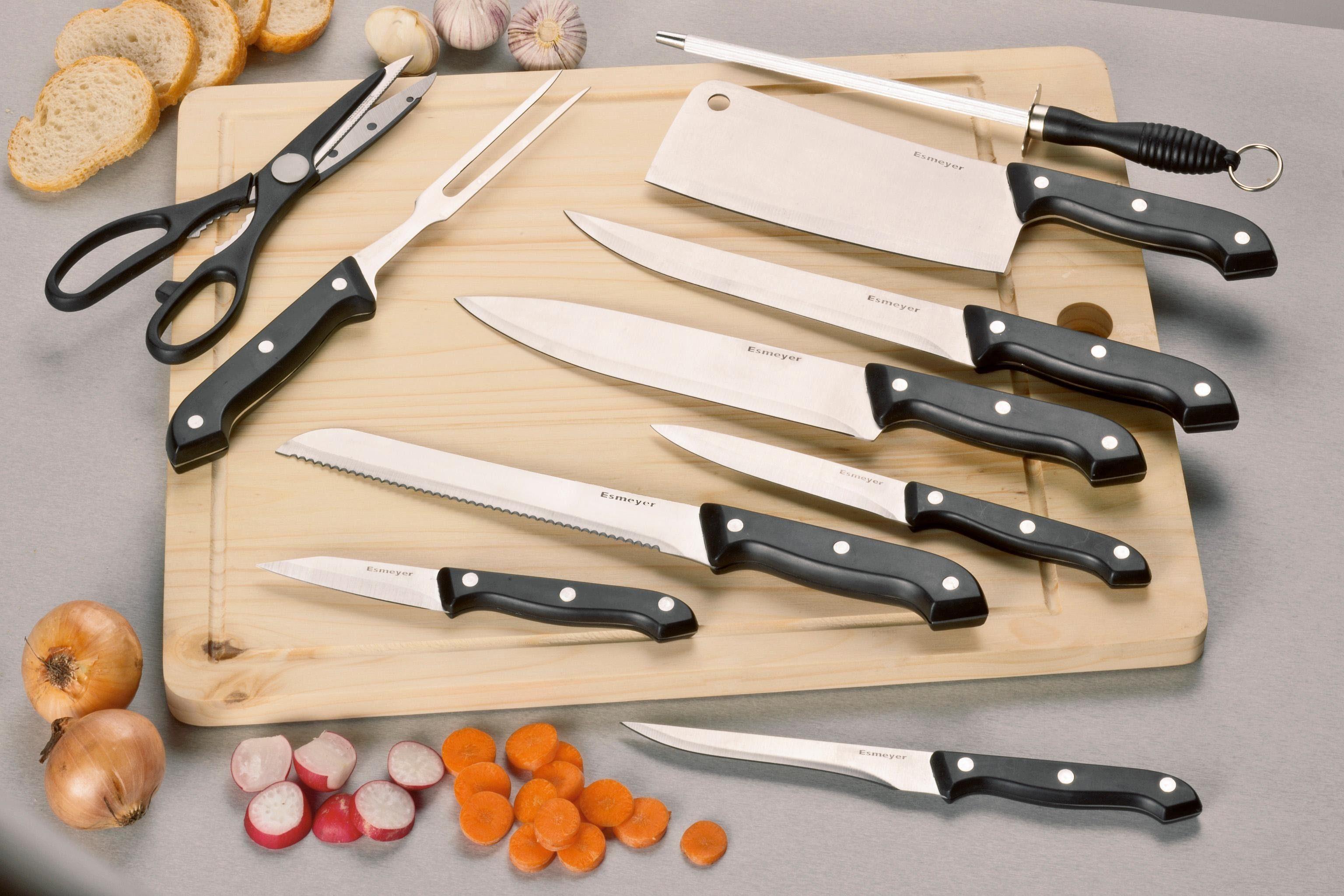 """Esmeyer Messer-Set """"Jupiter"""" (Set 11-tlg) Wohnen/Haushalt/Haushaltswaren/Besteck & Messer/Küchenmesser-Sets/Messer-Sets"""