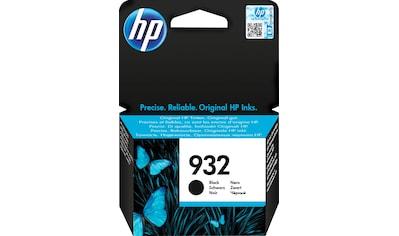 HP »hp 932 Original Schwarz« Tintenpatrone (1 - tlg.) kaufen