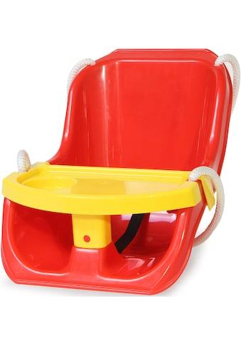Jamara Babyschaukel »Comfort Swing 2in1, rot«, bis 25 kg kaufen