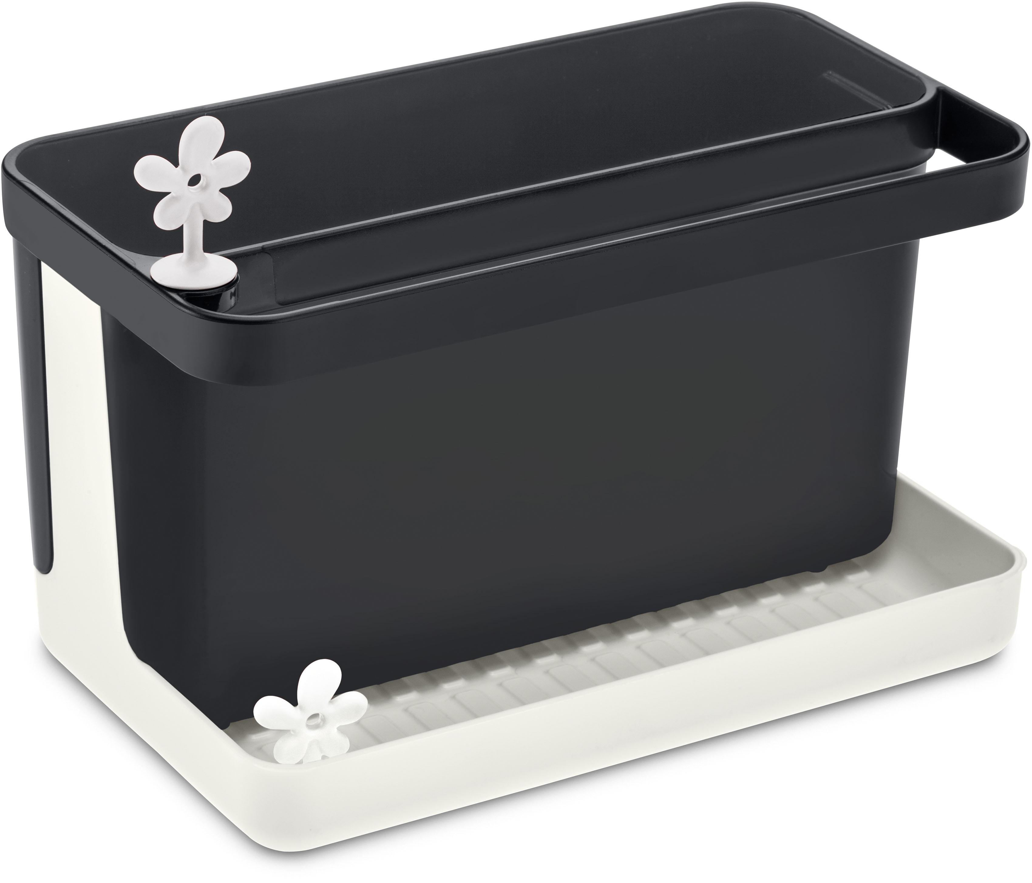 KOZIOL Geschirrständer Spül-Organizer PARK IT, spülmaschinengeeignet schwarz Küchenaccessoires Wohnaccessoires