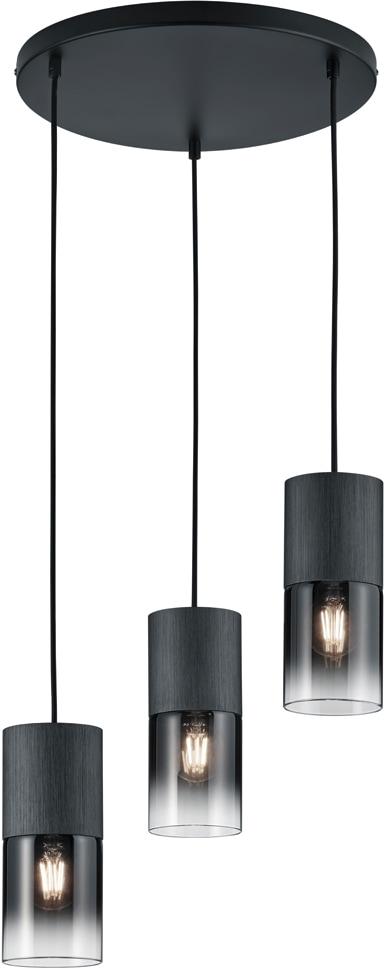 TRIO Leuchten Pendelleuchte ROBIN, E27, 1 St., Hängeleuchte, Hängelampe