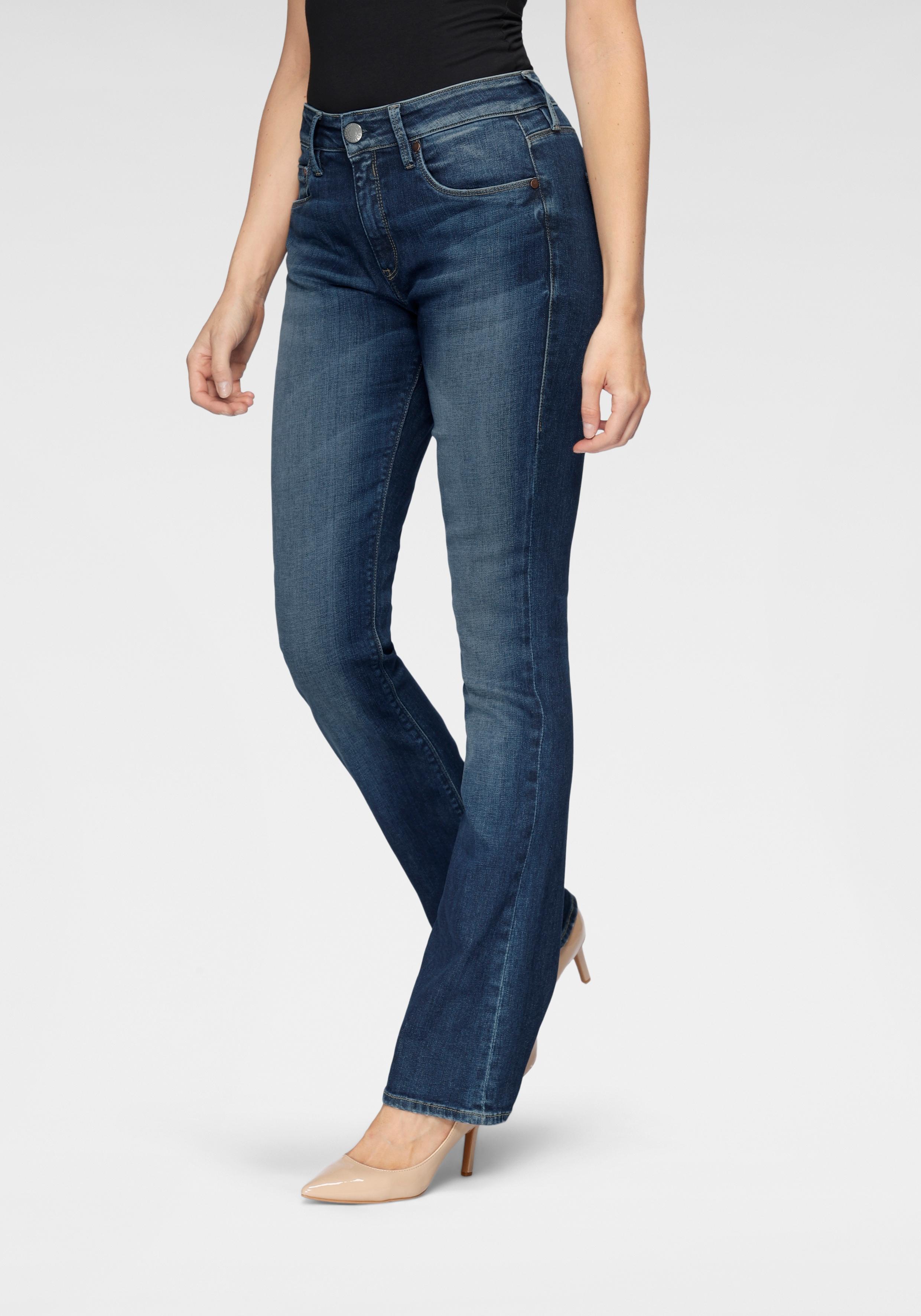 herrlicher -  Bootcut-Jeans SUPER G BOOT ORGANIC, umweltfreundlich dank Kitotex Technology