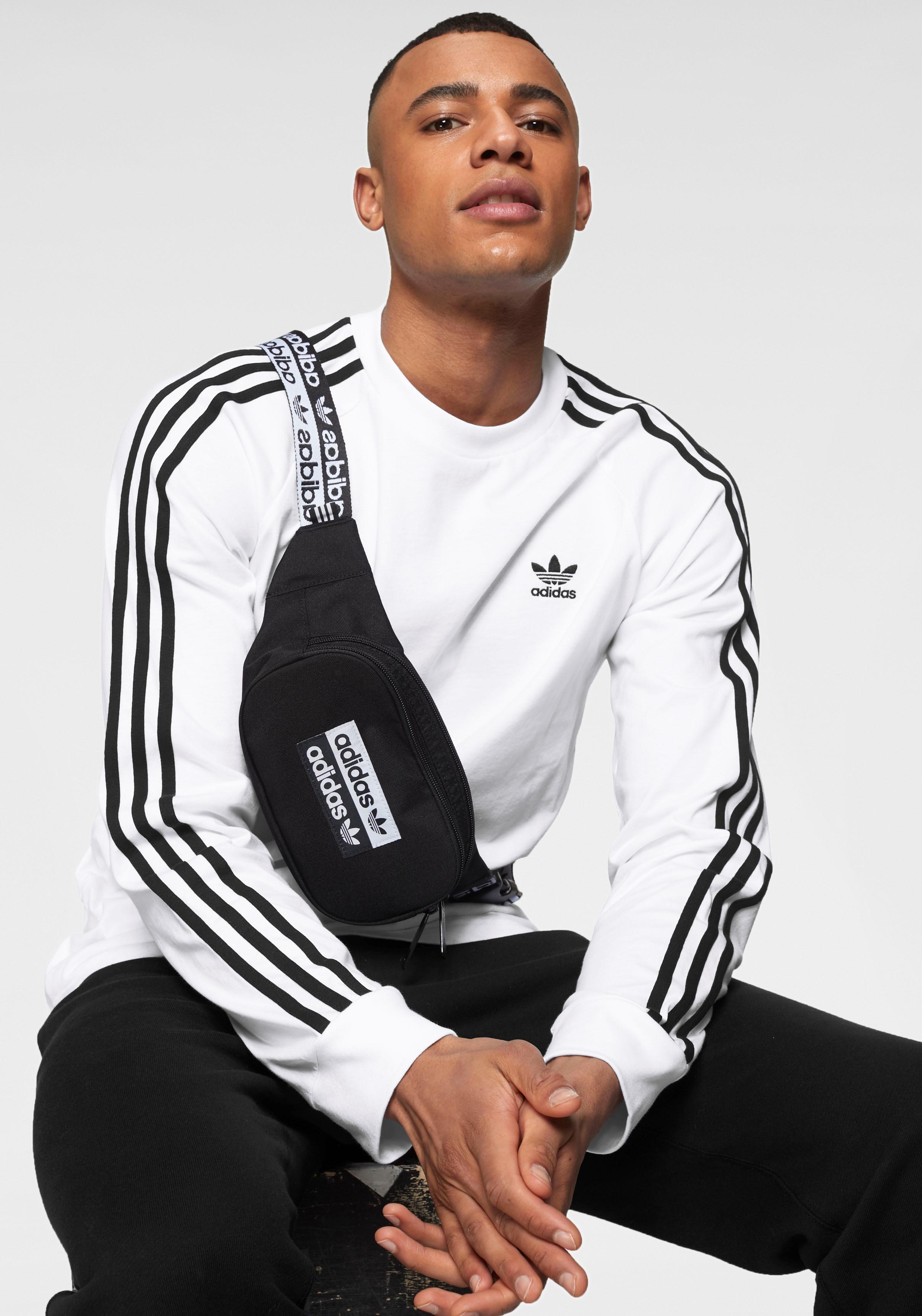 adidas originals -  Langarmshirt 3 STRIPE LONGSLEEVE
