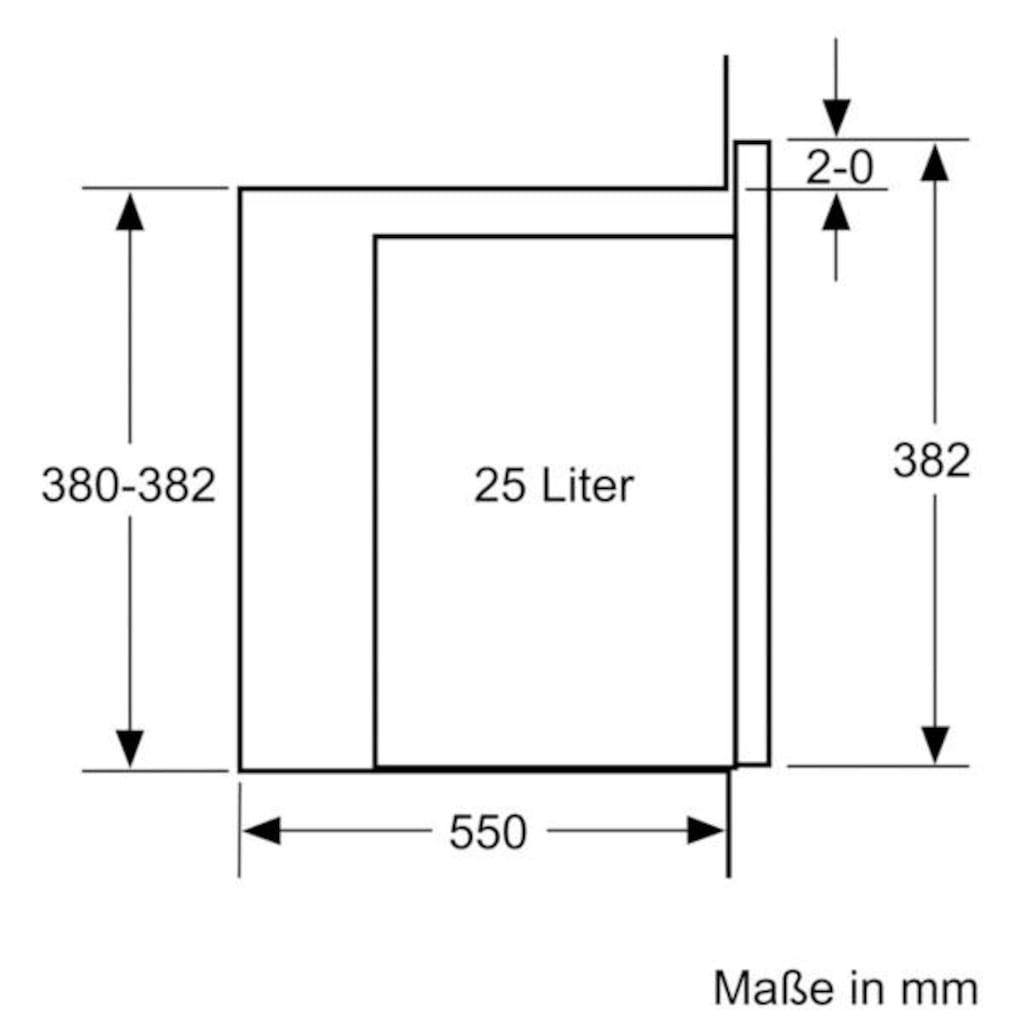 SIEMENS Einbau-Mikrowelle »BE555LMS0«, Mikrowelle, 900 W