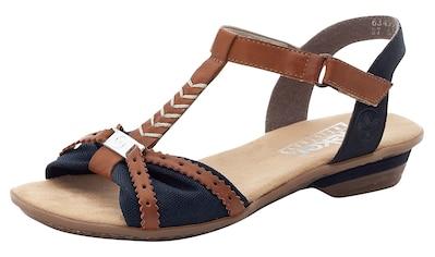 Rieker Sandalette, in zweifarbiger Optik kaufen