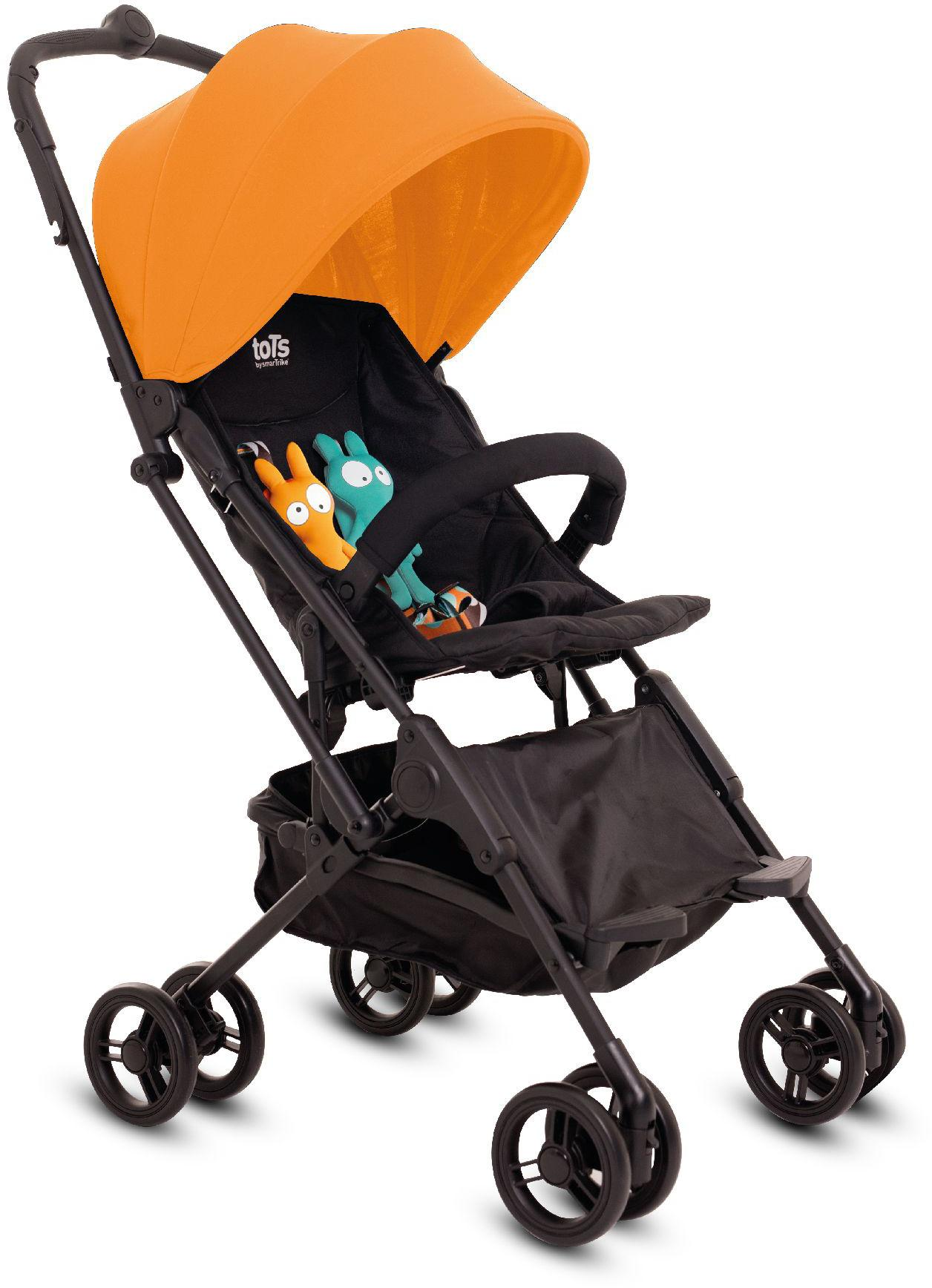 smarTrike Kinder-Buggy toTs Minimi Buggy, orange schwarz Kinder Sitzbuggys Buggys Kinderwagen Buggies
