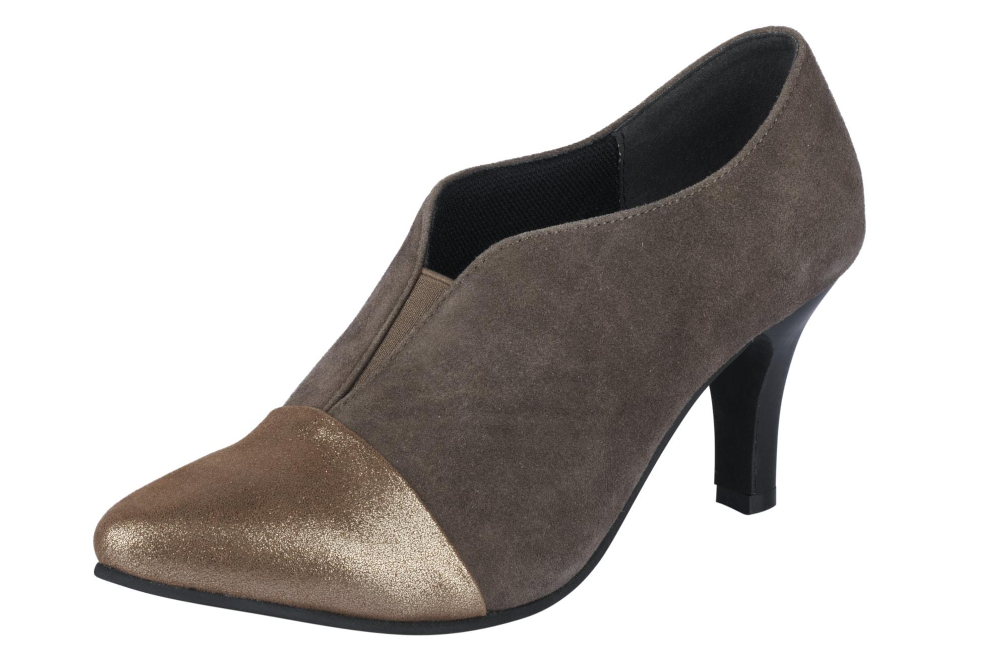 Andrea Conti Hochfrontpumps im Materialmix | Schuhe > Pumps > Hochfrontpumps | Andrea Conti
