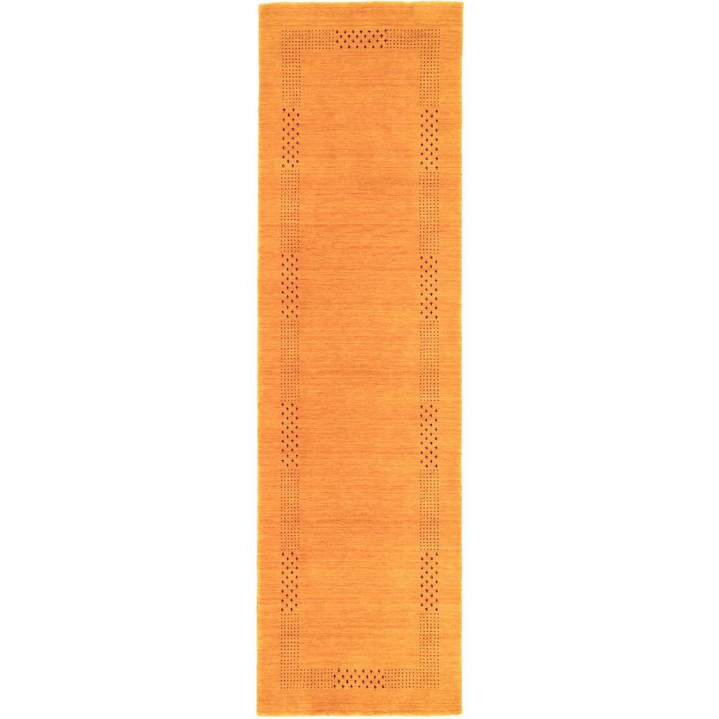morgenland Läufer »LORIBAFT NOVA«, rechteckig, 15 mm Höhe, Schurwolle Luxus Bordüre, Wohnzimmer