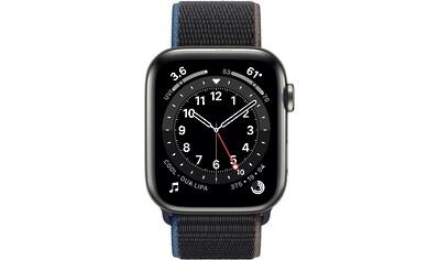 Apple Series 6 GPS + Cellular, Edelstahlgehäuse mit Sport Loop 44mm Watch kaufen