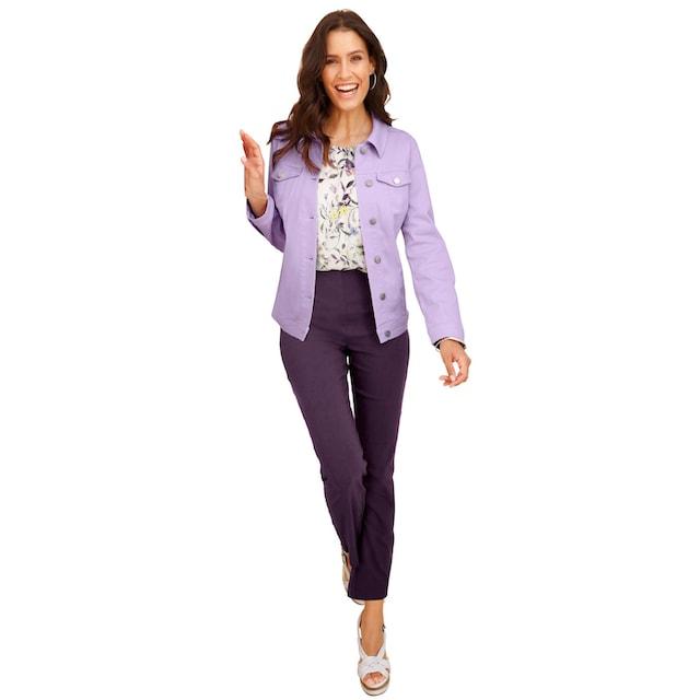 Inspirationen Jeans-Jacke in toller Farbgebung