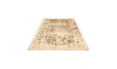 morgenland Wollteppich »Gabbeh Teppich handgeknüpft mehrfarbig«, rechteckig, 18 mm... kaufen