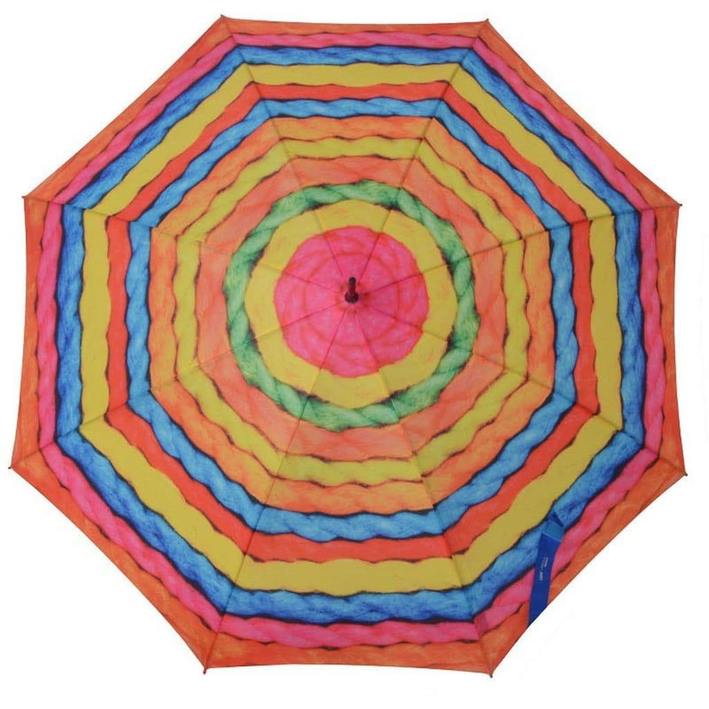 doppler® Stockregenschirm »Modern Art, Woolly«