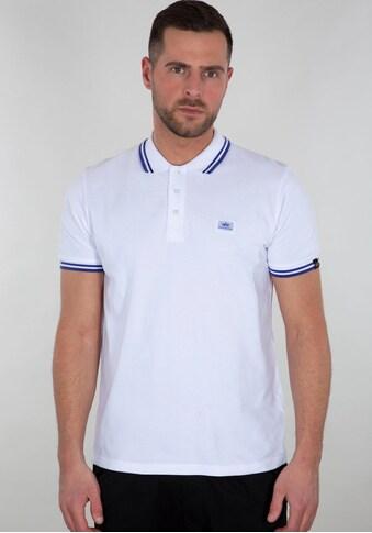 Alpha Industries Poloshirt »TWIN STRIPE POLO II« kaufen