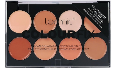 "technic Contouring - Palette ""Colour Max Cream Foundation Contour"", 8 - tlg. kaufen"