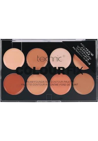 """technic Contouring - Palette """"Colour Max Cream Foundation Contour"""", 8 - tlg. kaufen"""