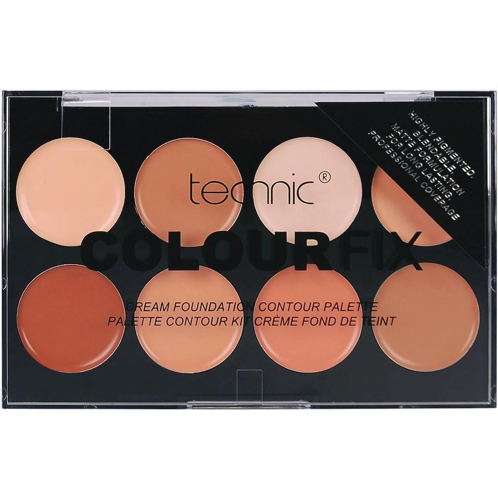"technic Contouring-Palette ""Colour Max Cream Foundation Contour"", 8-tlg."