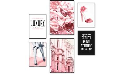 Artland Poster »Lebensstil Beauty«, Frau, (6 St.), Poster, Wandbild, Bild, Wandposter kaufen