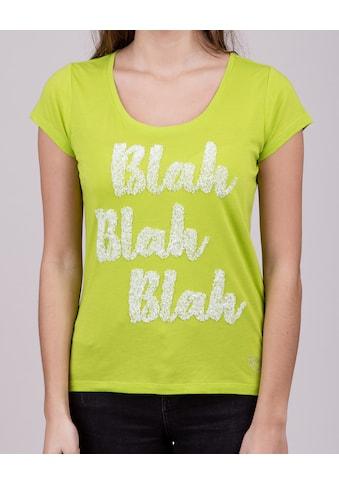 Key Largo T-Shirt, mit großem Frontprint kaufen