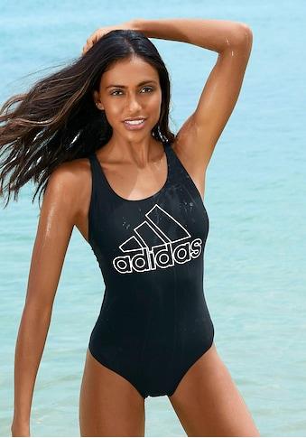 adidas Performance Badeanzug, mit großem Logoprint kaufen