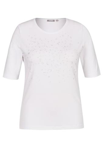 Rabe Rundhalsshirt, mit Nieten und Rundhalsausschnitt kaufen