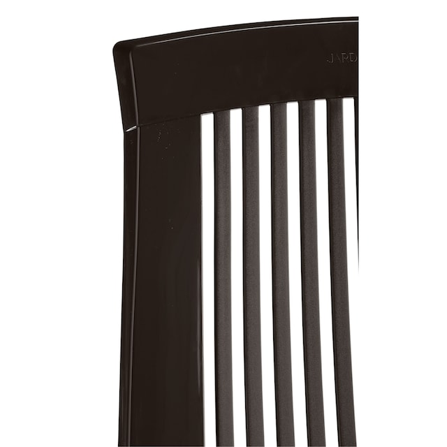 Best 13-tlg. Gartenmöbelset »Elise«, 6 Klappsessel,Tisch 137x90 cm, Kunststoff, braun