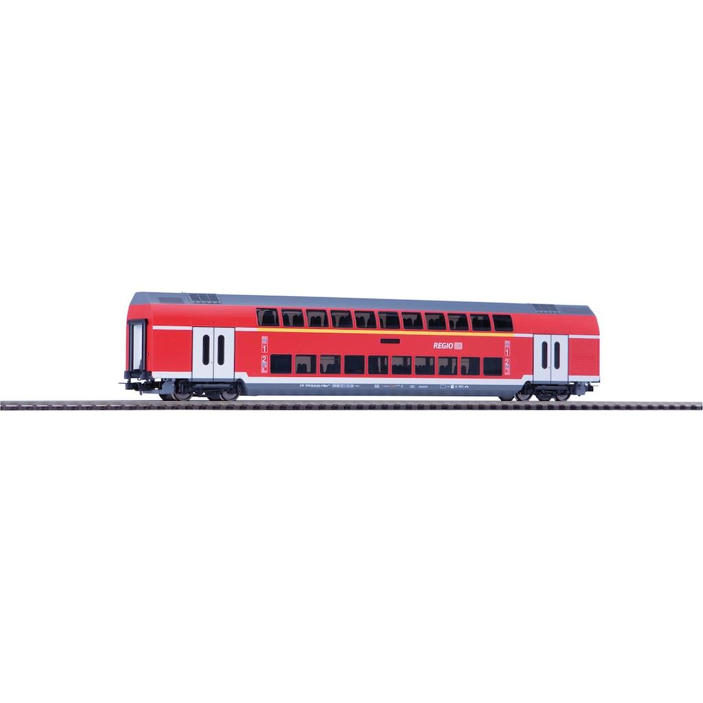 PIKO Personenwagen »Doppelstockwagen 1./2. Klasse DB Regio, (58804)«