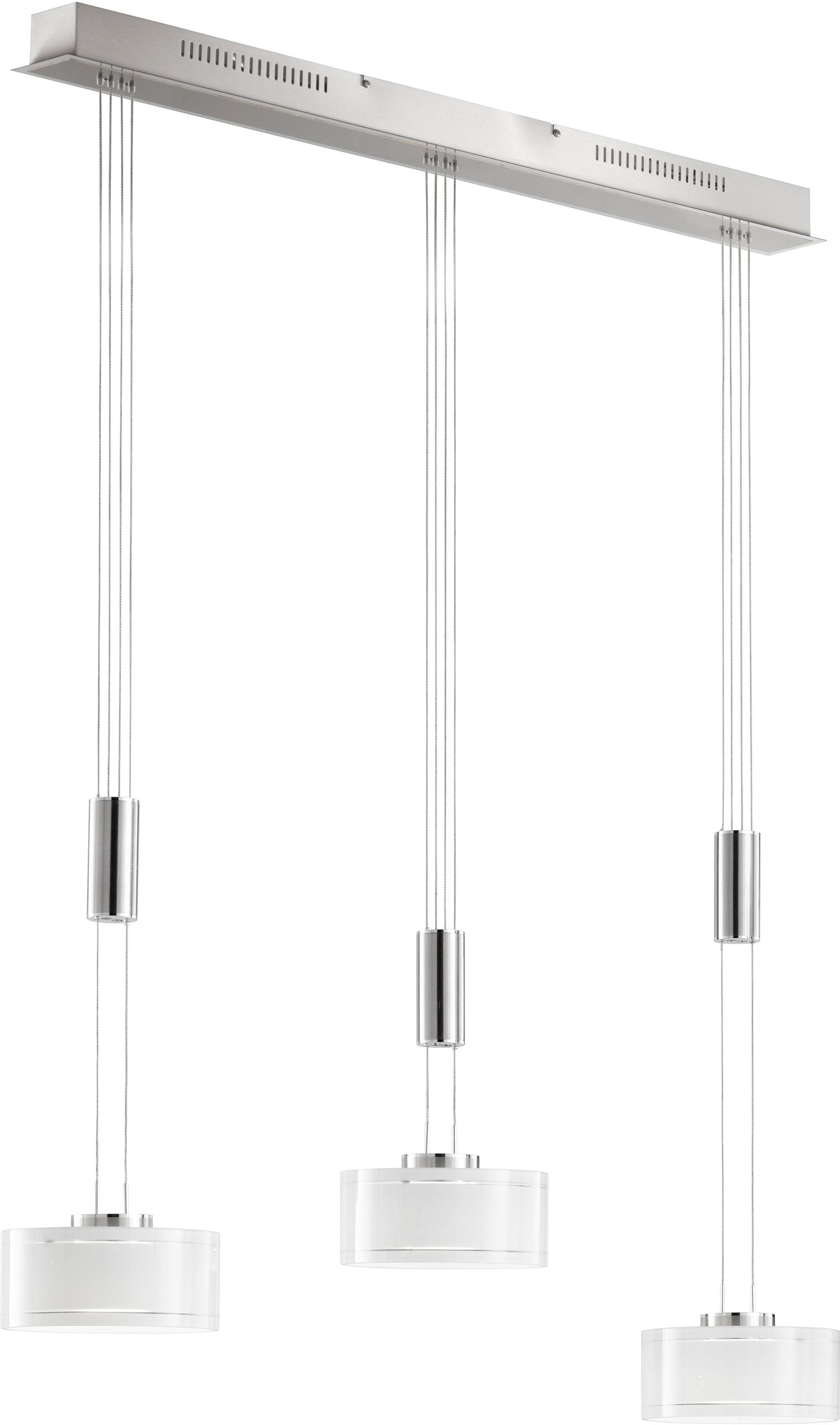 FISCHER & HONSEL LED Pendelleuchte Lavin, LED-Modul, Warmweiß