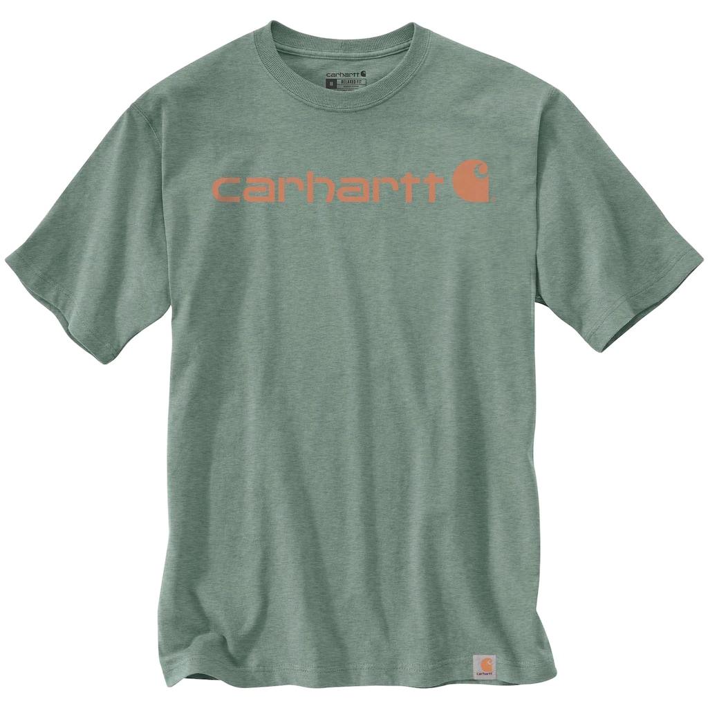 Carhartt T-Shirt, LEAF GREEN HEATHER