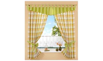 Vorhang, »Dolche«, Stickereien Plauen, Kräuselband 2 Stück kaufen