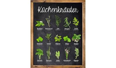 Home affaire Deco-Panel »Küchenkräuter«, 40/50 cm kaufen